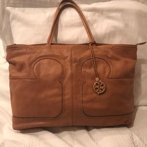 Tory Burch zippered tote bag